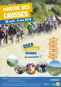 Marche des CAUSSES - Camp Jeunes-