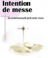 Intentions de Messe
