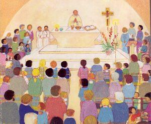 Messe animée par les Familles