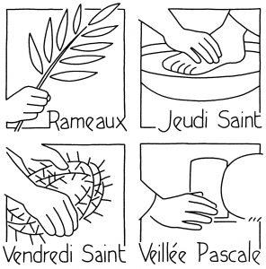 Horaires des cérémonies de la Semaine Sainte